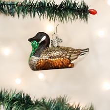 OLD WORLD CHRISTMAS CANADA GOOSE CANADIAN GOOSE BIRD GLASS XMAS ORNAMENT 16065