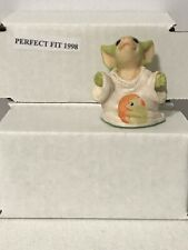 """Perfect Fit� World Of Pocket Dragons Hummel Goebel Collectibles No Box"