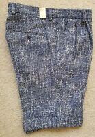 GANT Rugger Scruffy Shorts Persian Blue Men's Size EU 46