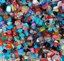 About 50g Mixed Gemstone Chips Beads, Mixed Stone AU SELLER FREE POSTAGE