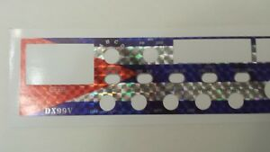 Galaxy DX 99V American Flag Face Plate Decal