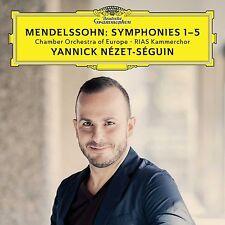 Yannick Nezet-Seguin/Coe-Sinfonie 1-5 (Felix Mendelssohn Bartholdy) 3 CD NUOVO