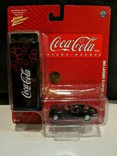 CHRYSLER ATLANTIC CONCEPT CAR JOHNNY LIGHTNING COCA-COLA TIN SET