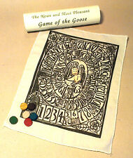 Game of the Goose; Tudor/Elizabethan historic board game; great children's game