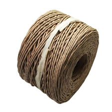 150m papel banda DIY alambre en bobinas cuerda regalo embalaje fiesta-decoración
