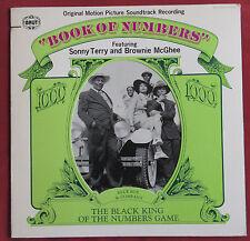 BOOK OF NUMBERS   LP ORIG US SONNY TERRY  BROWNIE MACGHEE OST BOF