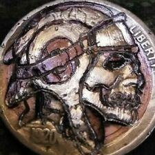 Hobo Nickel Coin buffalo nickel as Galaxy Hunter engraved by J&M Tarantula
