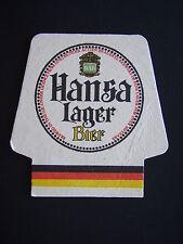 HANSA LAGER BIER COASTER