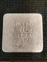 Token Tuxedo Bakery Good For 1 Loaf Calgary Early Tag  Token C10