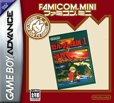 Poster – Legend of Zelda Famicom Mini (Game Gaming Picture GBA Nintendo Art)