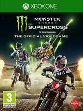 Monster Energy Supercross-el Videojuego Oficial (Xbox One) Nuevo Sellado
