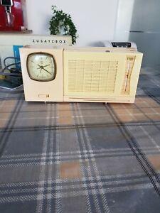 DDR RFT Taschenradio Stern T100 u Zusatzgerät TZ 10 Restauriert Top Zustand !