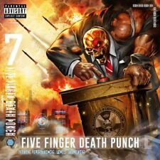 FIVE FINGER DEATH PUNCH CD - AND JUSTICE FOR NONE [EXPLICIT](2018)  NEW UNOPENED