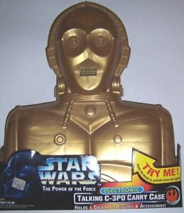 Star Wars Power of the Force Electronic Talking C-3PO Case