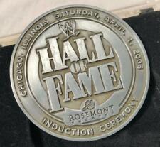 2006 WWE HALL OF FAME INDUCTION CEREMONY CHICAGO MEDALLION WORLD WRESTLING