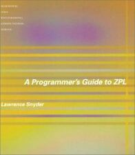 A Programmer's Guide to ZPL Scientific and Engineering Computation