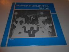 HEAVENS UNLIMITED STAND  BLACK SINGERS,+ CHOIR,OHIO  8 SIGNATURES ,C,EX,R=M-
