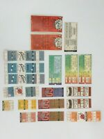 SAN FRANCISCO GIANTS - 20 Ticket Stubs '77, '79, '80, '81, '82, '83, '86 & '87