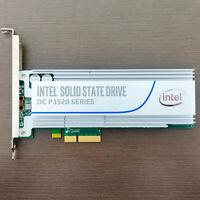 Intel DC P3520 SSD 2TB Nvme PCIe 3.0x4 MLC HHHL SSDPEDMX020T7