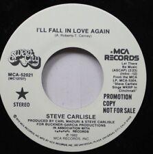 Pop Promo 45 Steve Carlisle - I'Ll Gall In Love Again / I'Ll Fall In Love Again