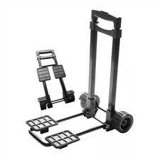 3-Stage Folding Luggage Cart With Bungee Cord
