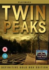 Twin Peaks Seasons 1 to 2 Complete Gold BOXSET UK DVD