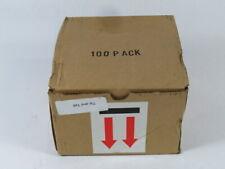 Telatemp Corp TELATIP Tip-N-Tell Damage Indicator Box Of 100 ! NEW !