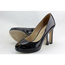 Open Toe Medium (B, M) Slip On Heels for Women