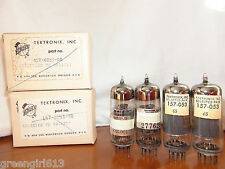 4 Nib Vintage Tektronix 12BY7 Audio Tubes  For Harman Kardon Ampifiers & 6146