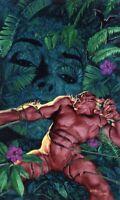 Glen Orbik Original Cover Painting for Shadow Bat 88 Ivy Clayface DC 1999 Batman