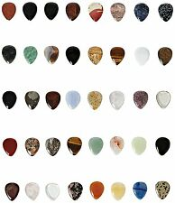 Timber Tones Full Mineral Plectrum Collection- RRP £600