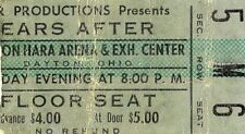 1972 Ten Years After concert ticket stub Dayton Ohio Alvin Lee I'm Going Home