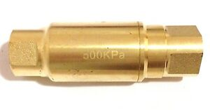 "AW Austworld Logi 500kPa PLV15F Pressure Limiting Valve 15mm 1/2"", Reg Postage"