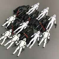 """Lot 3.75"""" Star Wars Darth Vader Clone Trooper Stormtrooper Action Collect Figure"""