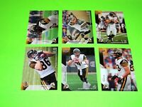 6 HAMILTON TIGER CATS UPPER DECK CFL FOOTBALL CARDS 34 35 40 41 42 122  #-2