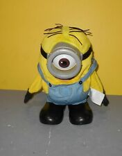 Thinkway MINIONS Movie Farting Interactive One Eye Stuart Talking Figure Toy