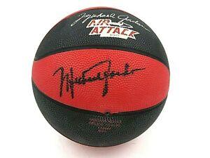 Michael Jordan Autographed Mini Basketball Chicago Bulls - No COA