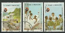 125 Jahre ROTES KREUZ/ S.Tome+Principe MiNr 1072/74 o