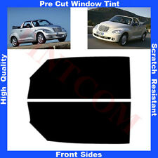 Pre Cut Window Tint Chrysler PT Cruizer Cabrio 2004-2010 Front Sides Any Shade
