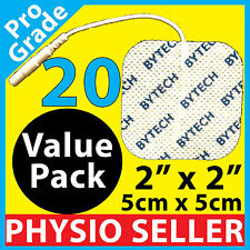 TENS MACHINE ELECTRODE PADS MASSAGER MUSCLE CIRCULATION BOOSTER UNIT ELECTRODES