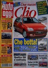 Auto Oggi 5 1996 Due nuove Clio. Quattro SW a confronto. Cadillac Catera Q70]
