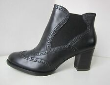 Tamaris Leder Stiefel Stiefelette schwarz Gr 41 ankle boots bootee black leather