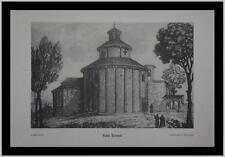Lombardia Bergamo Almenno Rotonda San Tomè incis. 800 Berlendis Collez Moreschi