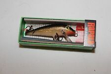 "RAPALA WOBBLER-""COUNTDOWN-CD-5G"" -GOLD-5,0g-5cm-MADE IN FINNLAND"