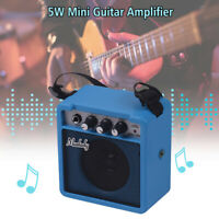 Muslady 5W Mini Guitar Amplifier Amp Speaker with 3.5mm & 6.35mm Inputs 1/4 R9G1