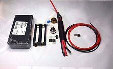 DIY Unregulated Box Mod Kit HAMMOND 2X MOSFET Black HAMMOND 1590B ENCLOSURE