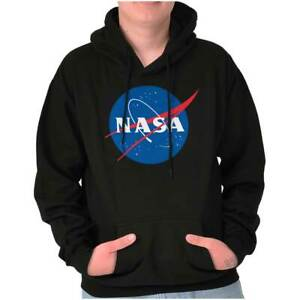 NASA Approved Meatball Logo Space Program Hoodie Hooded Sweatshirt Men Women