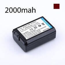 Battery for Sony NEX 3 5 6 7 7R 7S N T C F 5N 3N A6000 A5100 NP-FW5 Alpha camera