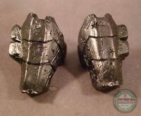 MUC042 Rattlor Shin Guards custom sculpt cast for use with Mythic Legions MotUC