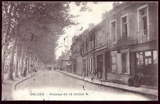 cpa Decize ( Nièvre ) avenue du 14 juillet . 1923